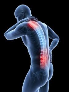 skeleton back pain
